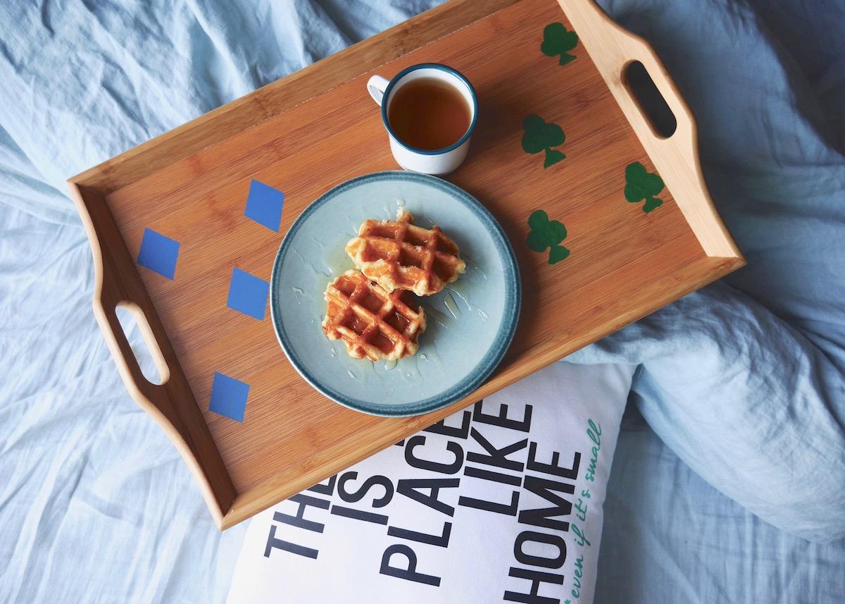 DIY plateau petit dejeuner personnalisé - Clem Around The Corner