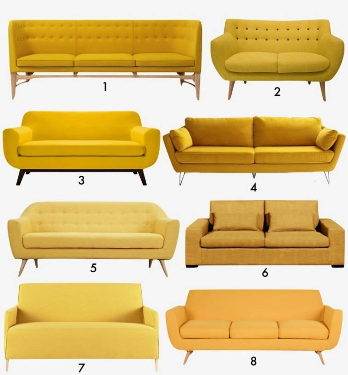 chambre jaune moutarde les coloris associer clemaroundthecorner. Black Bedroom Furniture Sets. Home Design Ideas