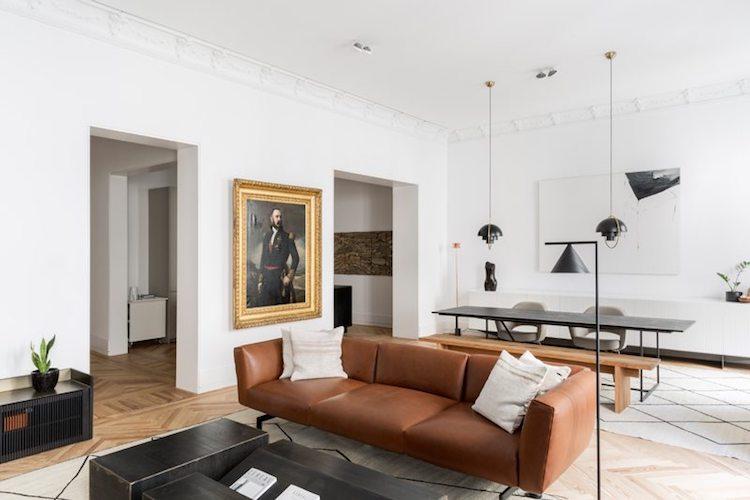 visite blog deco symétrie axiale salon minimaliste