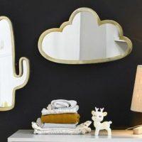 AM.PM Miroir nuage laiton