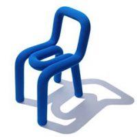 idées cadeaux ado garcon chaise bureau original bleu electrique