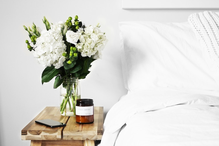 lit blanc trente ans