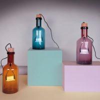 idee cadeaux homme noel lampe bouteille led filament ambre seletti