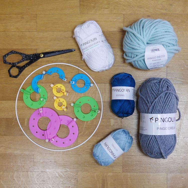 mobile diy confection materiel laine blog deco decoraion do it yourself