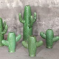 cactus en ceramique verte serax