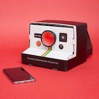 Projecteur style polaroid