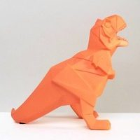 House of Disaster - Lampe origami dinosaure
