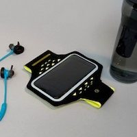 Hama - Active Sports - Brassard à LED pour smartphones
