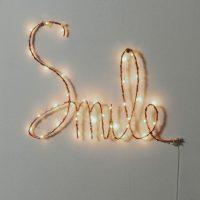 lampe mot lumineux idee cadeaux ado