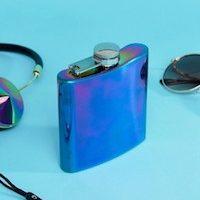 Fizz - Flasque de poche irisée