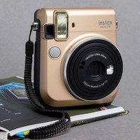 Fujifilm - Instax Mini 70 - Appareil photo instantané - Doré