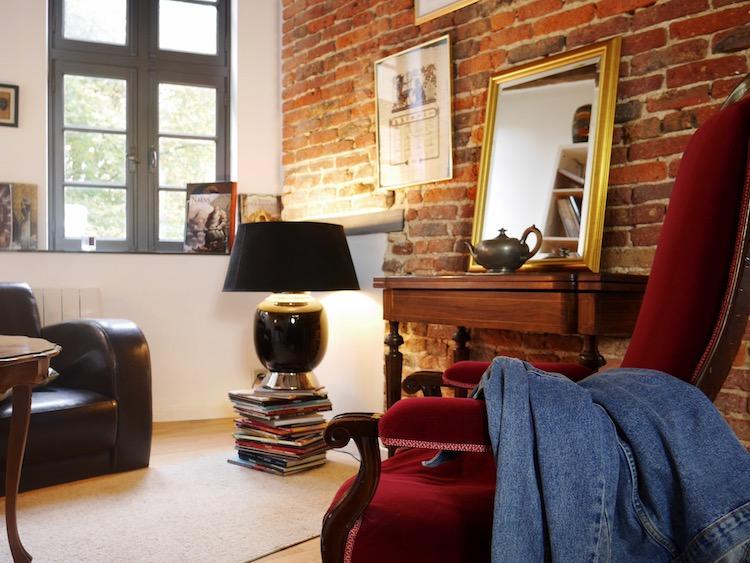appartement lillois appart a lille mur brique