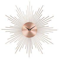 horloge soleil en metal cuivre
