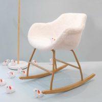 idées cadeaux ado noel fauteuil bascule fourrure