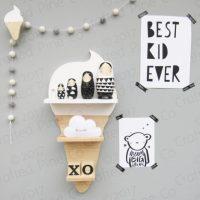 idées cadeaux enfant bébé déco etagere glace