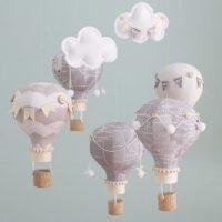 idées cadeaux enfant bébé déco mobile montgolfiere