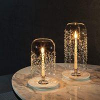 Lanterne en Cristal Lux Orbit - Moyen Atelier Swarovski idées cadeaux femme