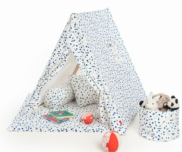 déco enfant made in france deuz tente a pois