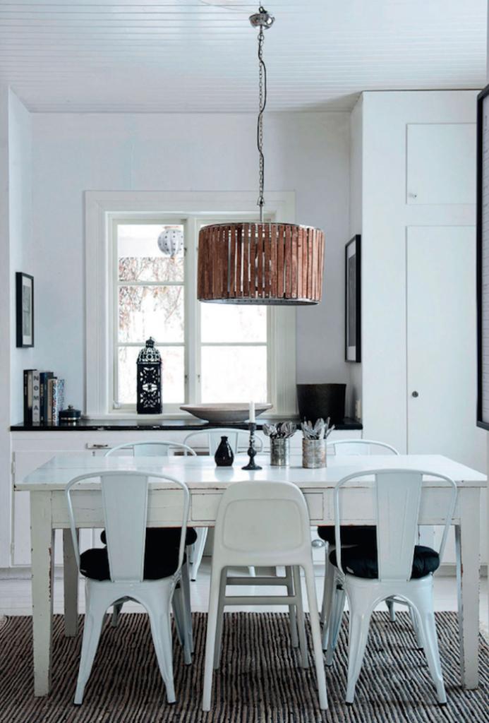 décoration monochrome scandinave bohème intérieur blanc