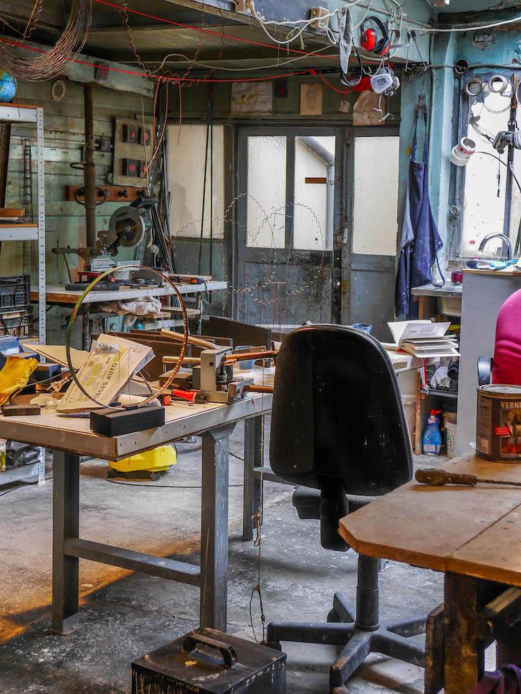 laurent trebout atelier garage