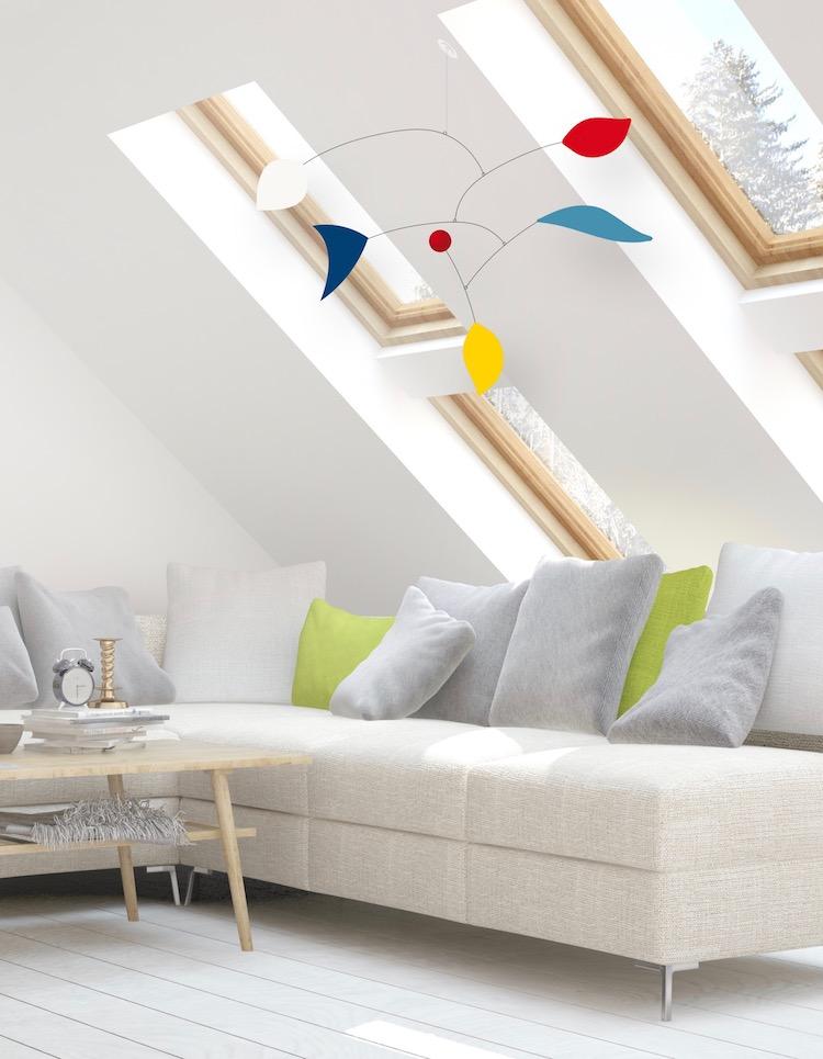 virvoltan mobile pour adulte calder chalet salon velux sous les toits