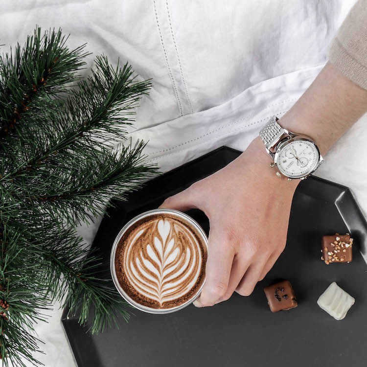 descamps nouvelle collection lit lin blanc latte art