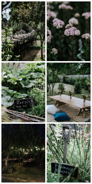 mini maison champetre chambre sur jardin mariage potager