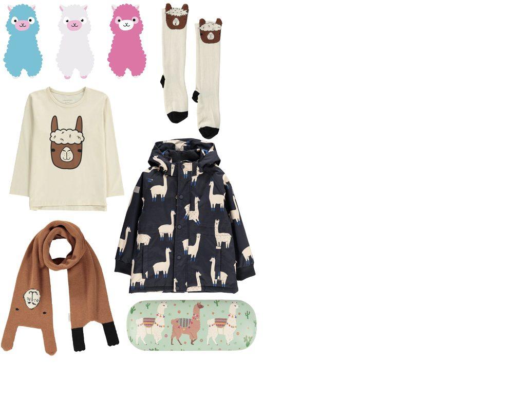 blog deco lama echarpe enfant mode tendance chaussettes