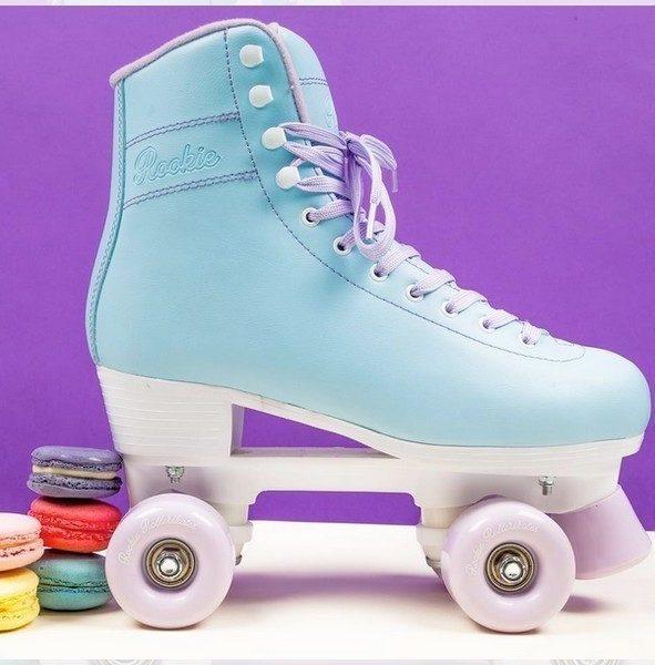 Rookie BubbleGum rollers sport design turquoise patin rose violet