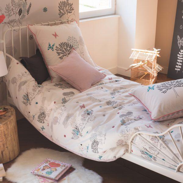 dessiner sur son lit parure