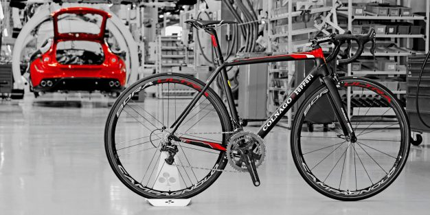 article de sport design velo collection Colnago Ferrari