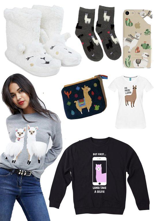 blog deco lama tee shirt rigolo femme chausson alpaga mode tendance
