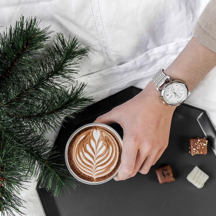 descamps nouvelle collection lit lin blanc latte art