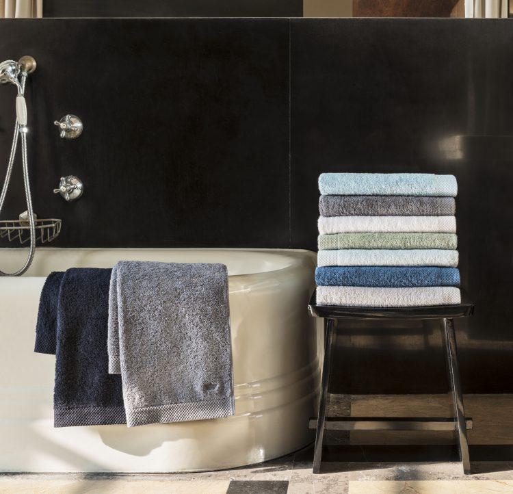 histoire maison descamps primrose bordier serviette eponge camaieu