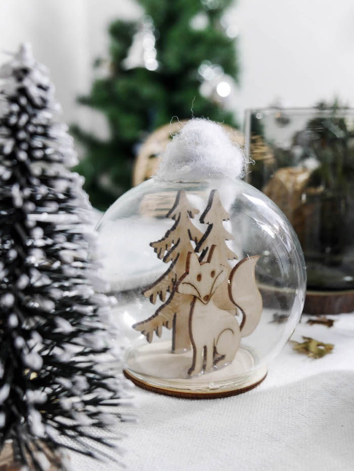 boule jolie table de noel