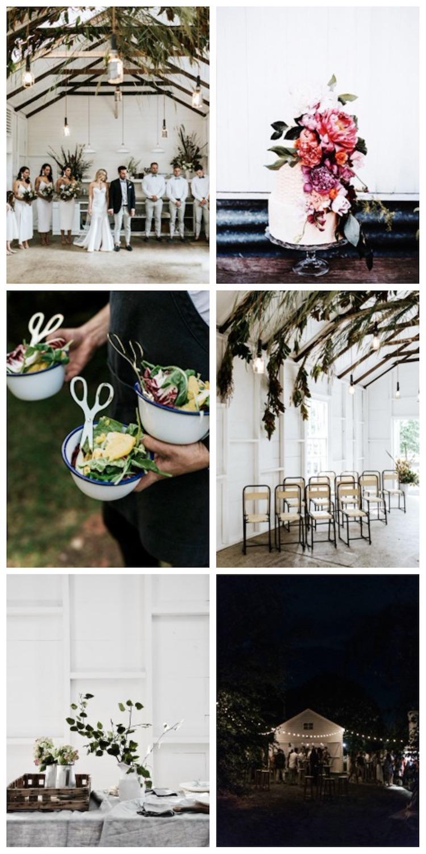 mini maison champetre mariage nature bucolique sapin
