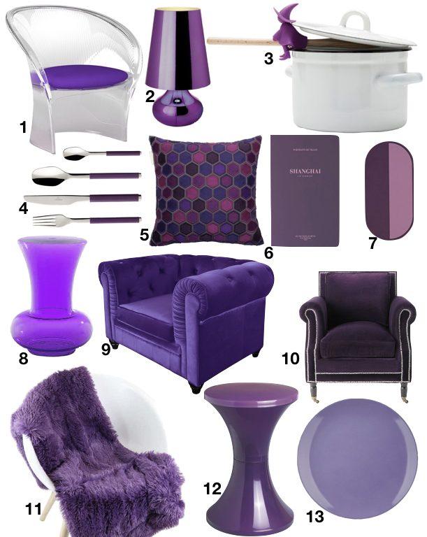 couleur pantone 2018 ultra violet clem around the corner. Black Bedroom Furniture Sets. Home Design Ideas