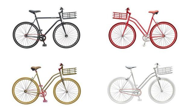 sport design velo designer martone couleur or rouge