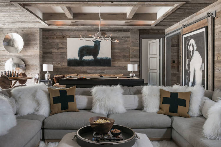 Chalet flanc de montagne blog d co clem around the for Deco de montagne petit prix