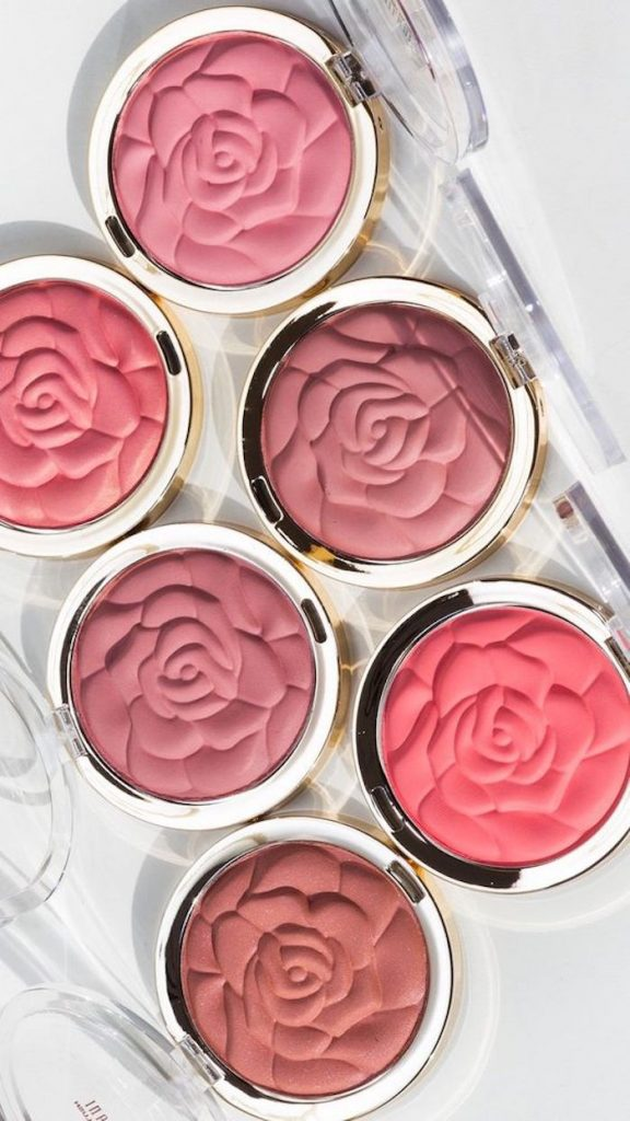 deco rose poudre blush roses fard joues rose orange rouge marron creme taupe creamy beige
