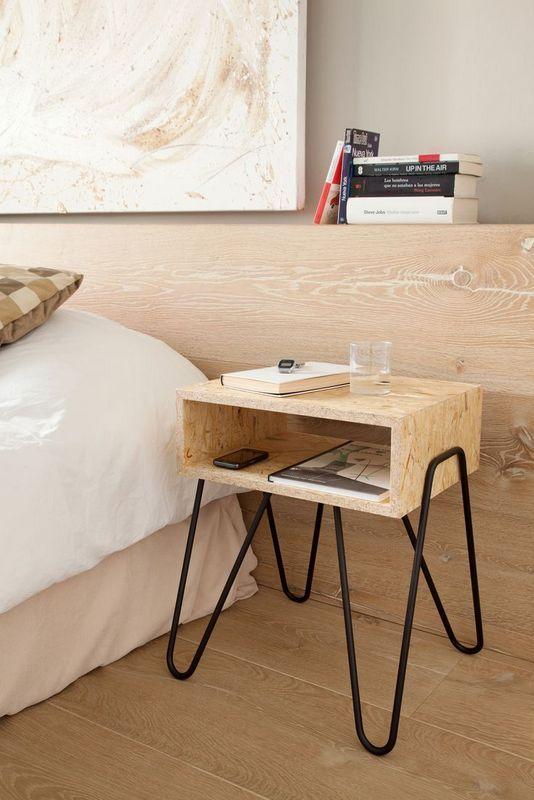 table de nuit faire soi meme meuble osb bon plan deco blog