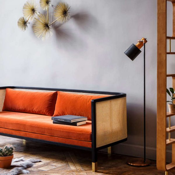 maisonobjet paris 2018 canape orange velours red edition tendances deco