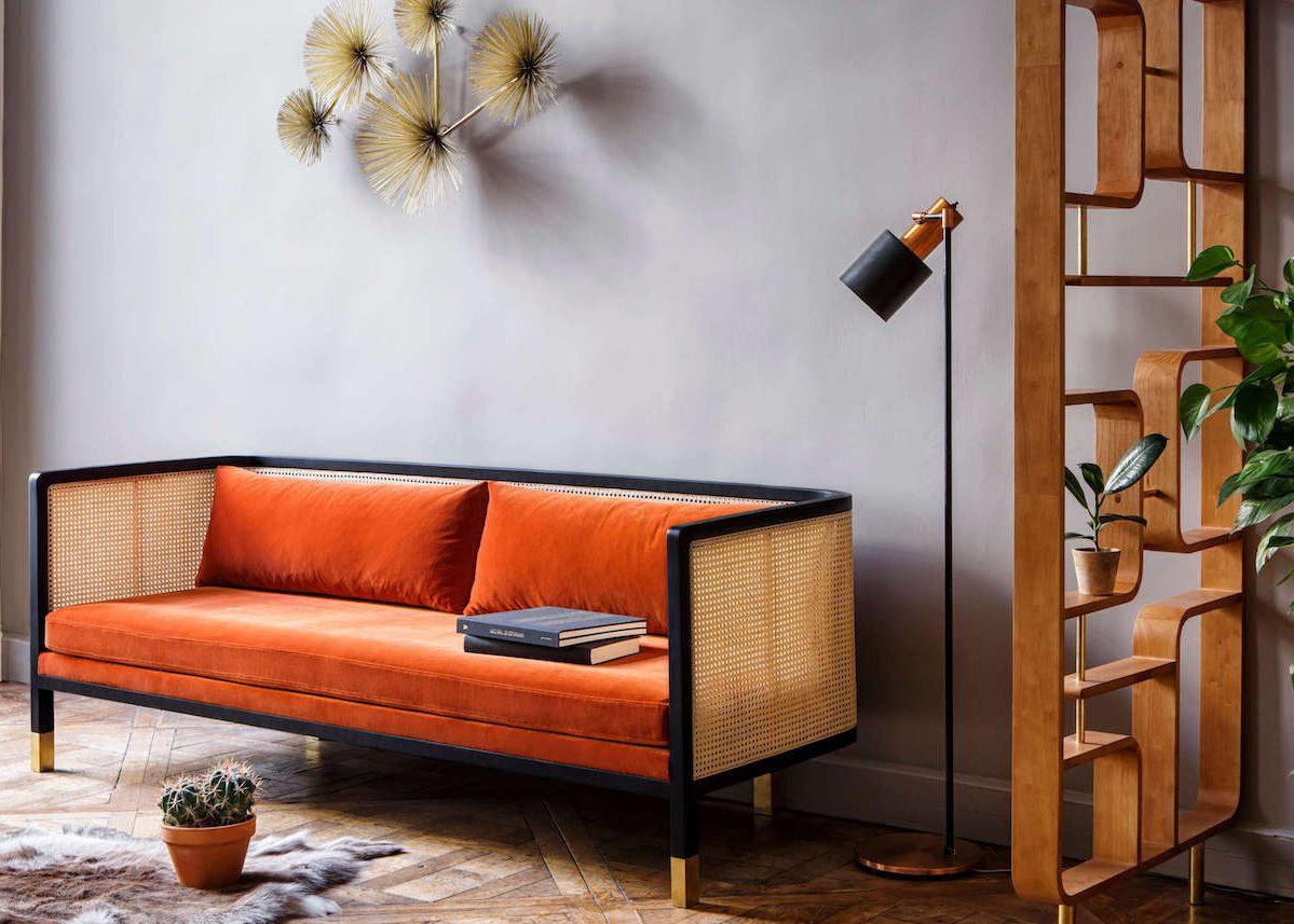 maisonobjet paris 2018 canape orange velours red edition tendances deco