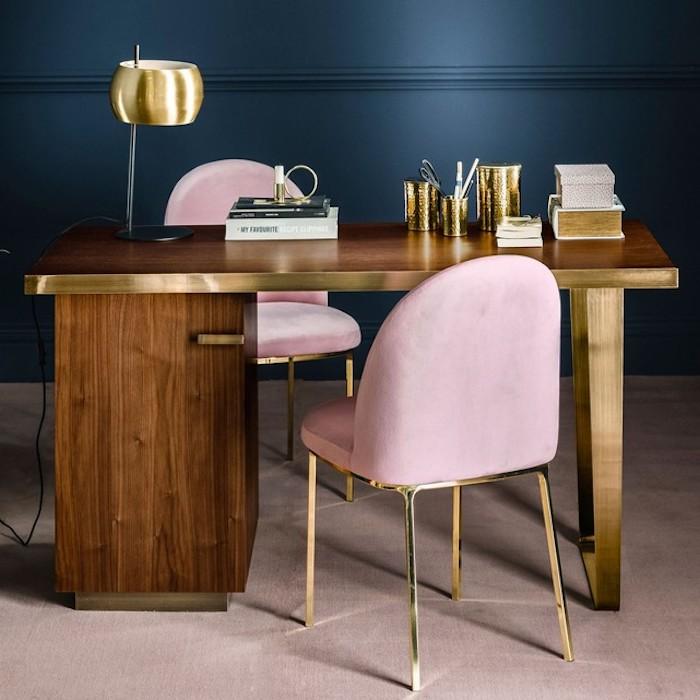 maisonobjet 2018 tendances deco laiton rose bleu bois