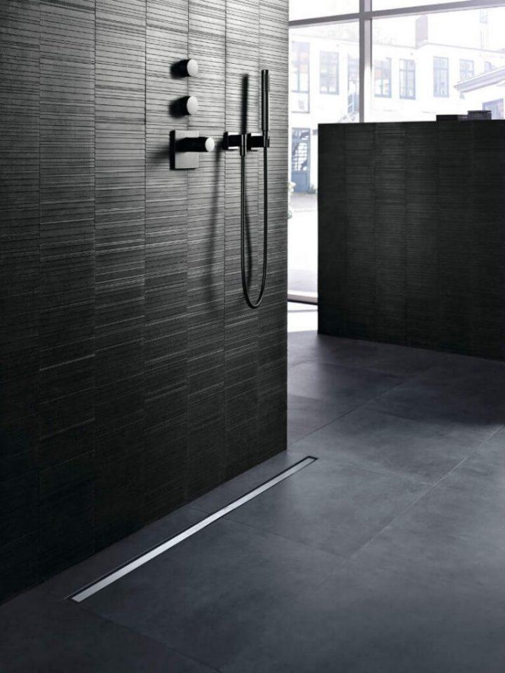 douche italienne noire ardoise elegante minimaliste blog deco