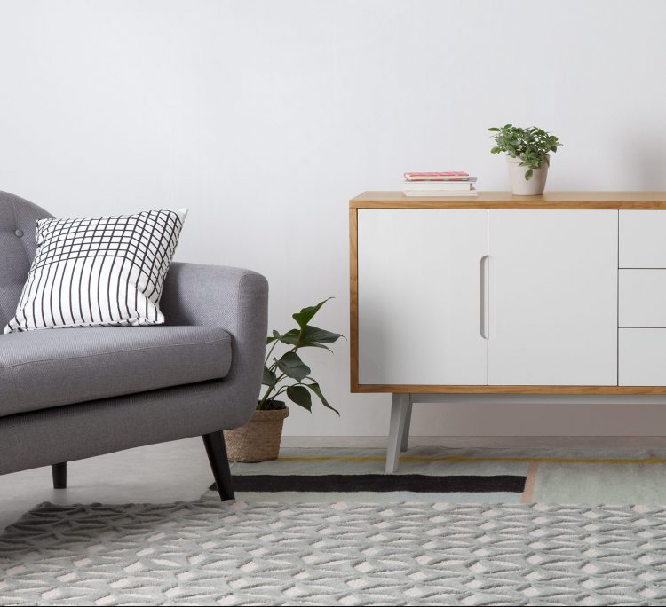 soldes chez made commode scandinave blanche bois clair pas chere