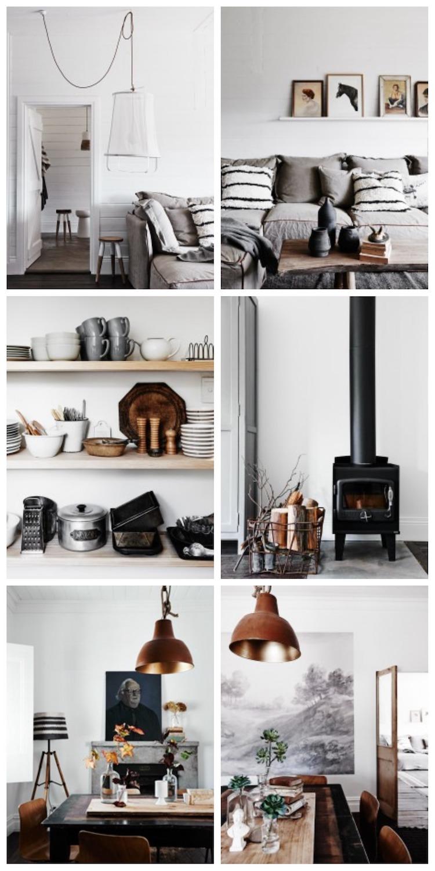 mini maison champêtre decoration style scandinave vintage salon