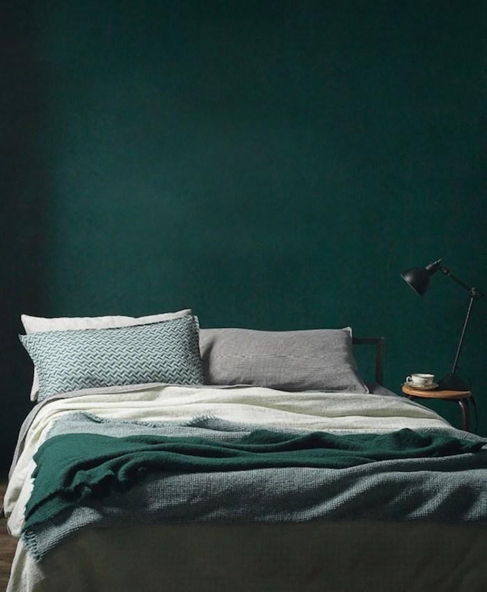 Chambre Vert Foncé : Couleur de chambre conseils clemaroundthe corner