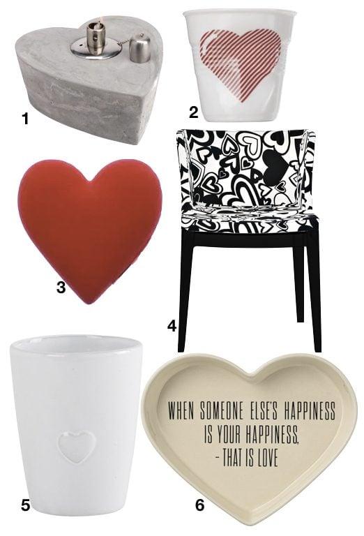 déco à coeur chaise design idee cadeau saint valentin