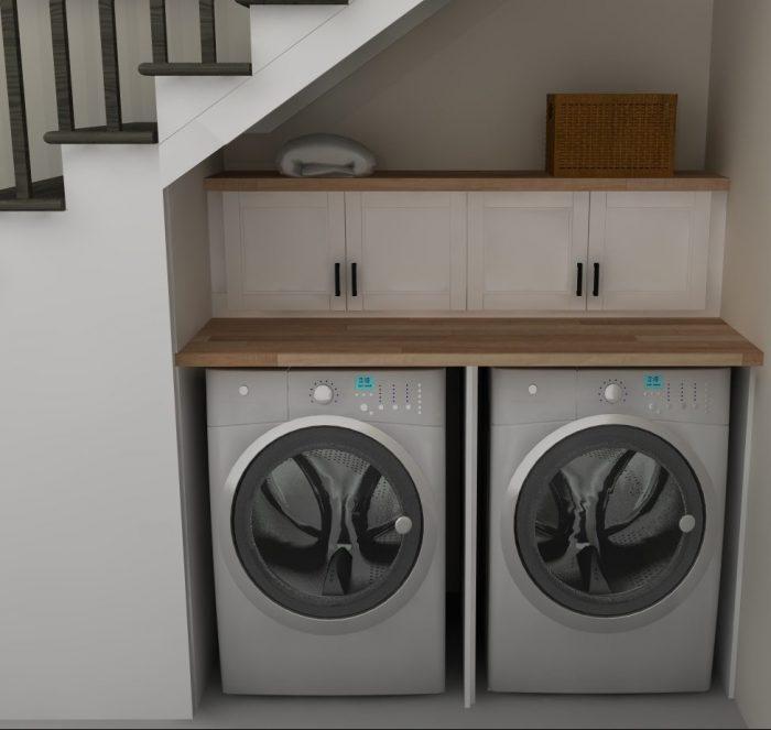 20 astuces pour am nager un dessous d 39 escalier clematc. Black Bedroom Furniture Sets. Home Design Ideas